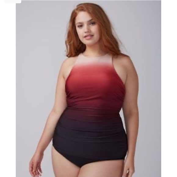 95355028a9a NWT Lane Bryant swim top. M_5ad695c531a376546e064097